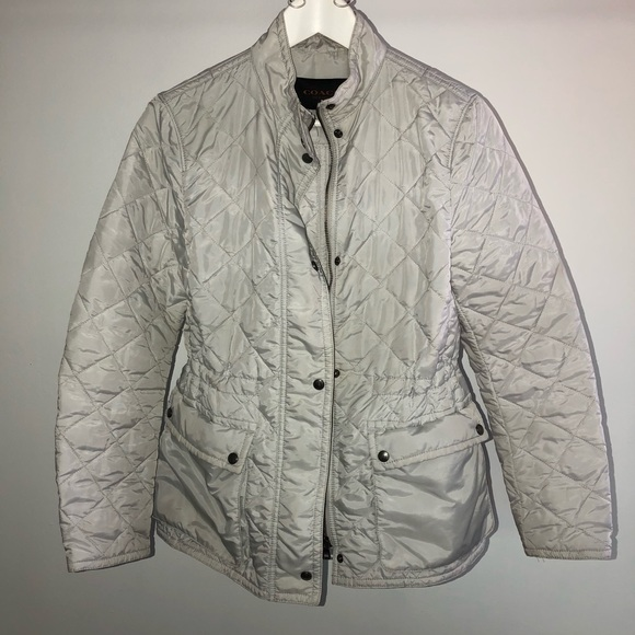 Coach Jackets & Blazers - Off white COACH quilted jacket size small